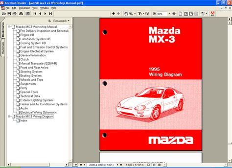 download car manuals pdf free 1988 mazda mx 6 instrument cluster mazda mx3 repair manual repair manual order download