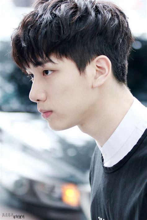 pin   short hairstyle kpop men