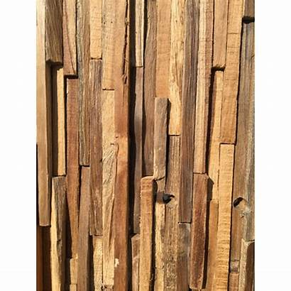 Wall Cladding Panel Driftwood Teak Modern Homesdirect365