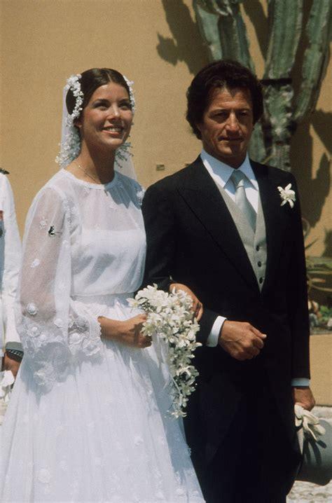 princess caroline  monaco    gorgeous royal wedding gowns   time stylebistro