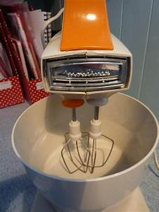 Vintage Retro Moulinex Electric Food Mixer Beater With