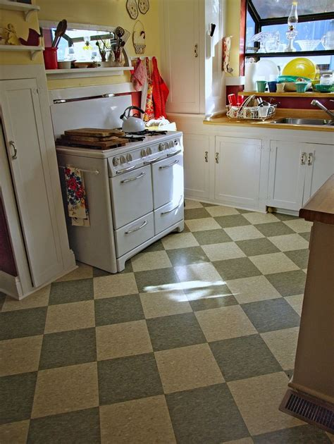 Kitchen Floor Tile Sale by Inspirational Vintage Kitchen Tile Floor Retro Kitchen