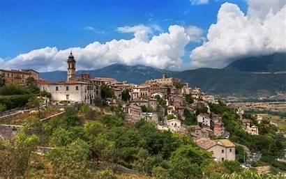 Italian Countryside Capestrano Abruzzo Desktop Comune Wallpapersafari