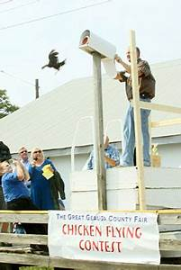 Chicken Flying Contest at The Great Geauga County Fair ...