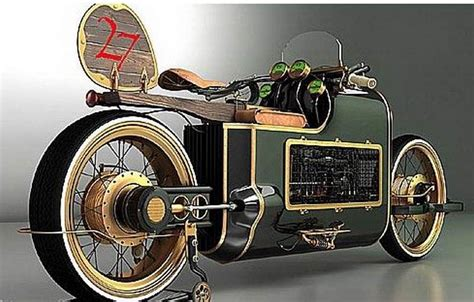 Russian Steampunk Bike