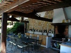 outdoor kitchen cuisine dete french home pinterest With cuisine d ete amenagement