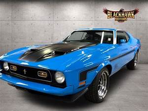 Steal The Show In This Stunning 1973 Ford Mustang Mach 1 Tribute