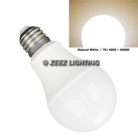 led light bulb 12w bright white a19 e26equivalent