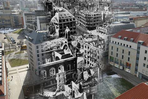 Design Möbel Dresden by La Reconstrucci 243 N De Dresde Tras El Bombardeo El Antes Y