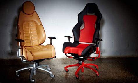 New Office Chairs Come With Distinct Ferrari Flavor
