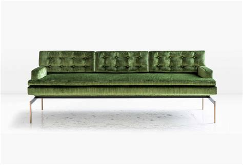green sofas for sale mancini sofa with tufted back in green velvet and silicon