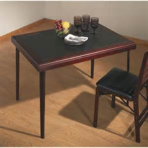 cosco 32in x 44in mahogany folding card table ebay