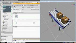 Tia Portal And Plcsim   Tutorial   Simulation Of A Conveyor