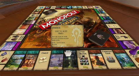 world  warcraft monopoly  tabletop simulator nexus