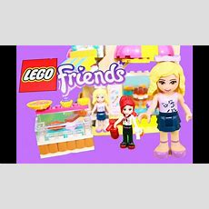 Lego Friends Toy Review Downtown Bakery Video Unboxing