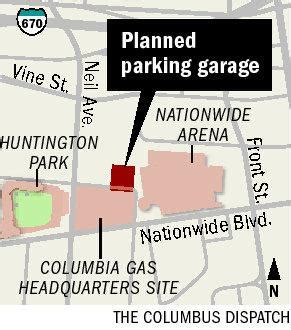 arena garage nationwide arena 1 200 space garage envisioned near arena news the