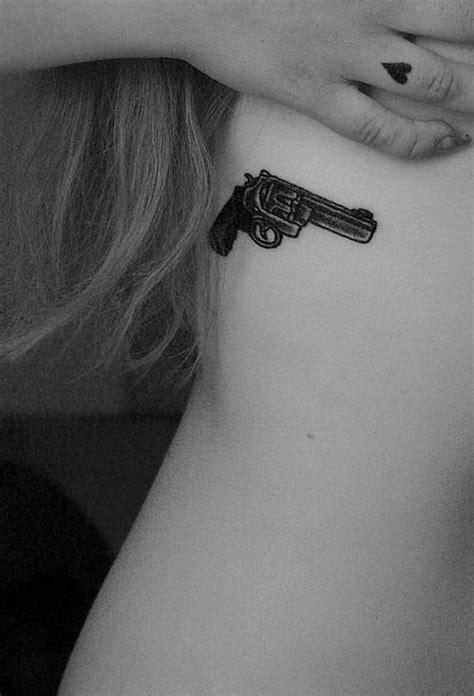 137 Fantastic Gun Tattoos That Hit Their Mark | Tattoos