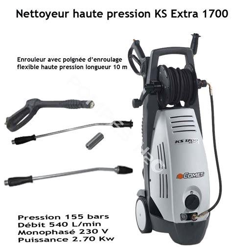 nettoyeur a haute pression nettoyeur haute pression eau froide ks 1700 pompes h2o