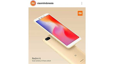 price and specifications of xiaomi redmi 6 news tech