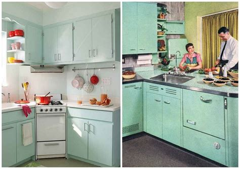 essential design elements   perfectly retro kitchen