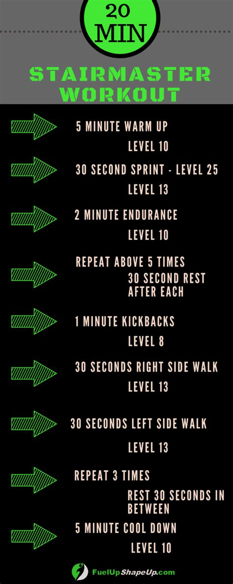 benefits   stairmaster workout