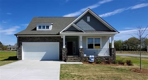 raleigh ii  move  ready homes  willow spring nc eastwood homes
