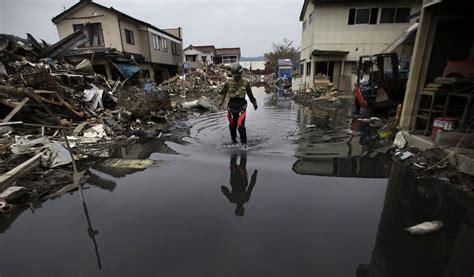earthquake strikes  fukushima japan tsunami warning