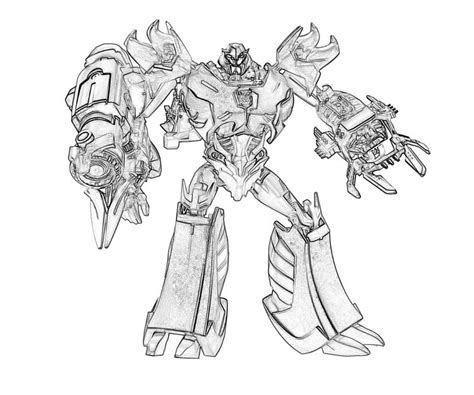 Kleurplaat Real Weel by 135 Dibujos De Transformers Para Colorear Oh Page 7