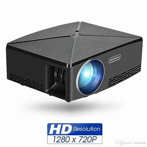 2019 Mini Lcd Projector C80 Led Home Theater 2200 Lumens