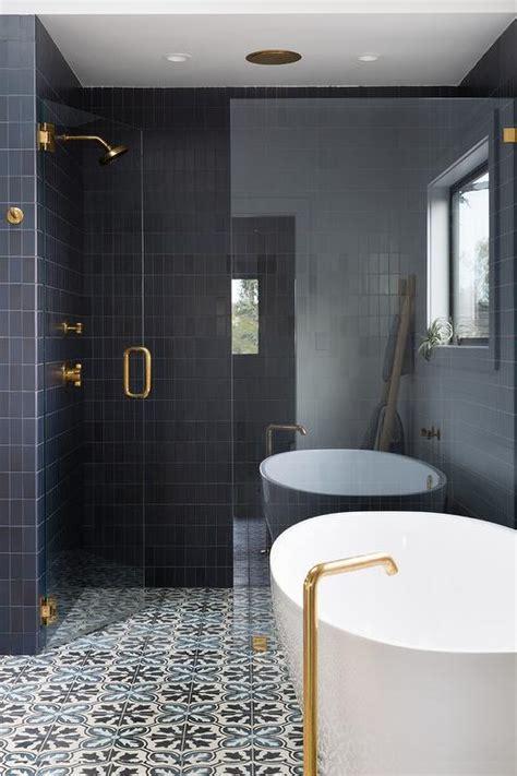 black  white bathroom  black  white concrete