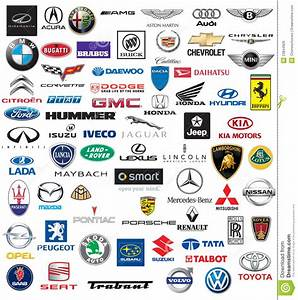 World Brand Of Cars Logotypes Editorial Stock Image Image: 23844929