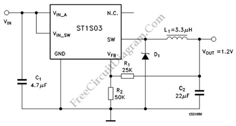 Adjustable Step Down Mhz Switching Regulator