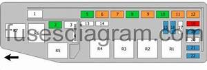 Fuse Box Diagram Mazda Mpv