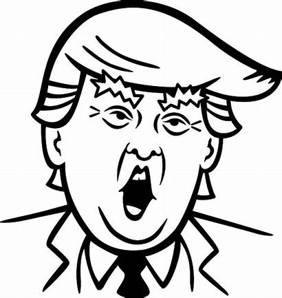 Trump Donald Clipart Library Easy Send Letter