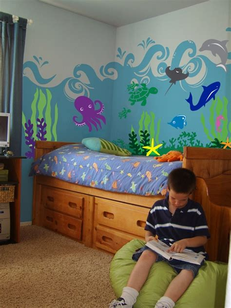 sea ocean animal wall decal stickers