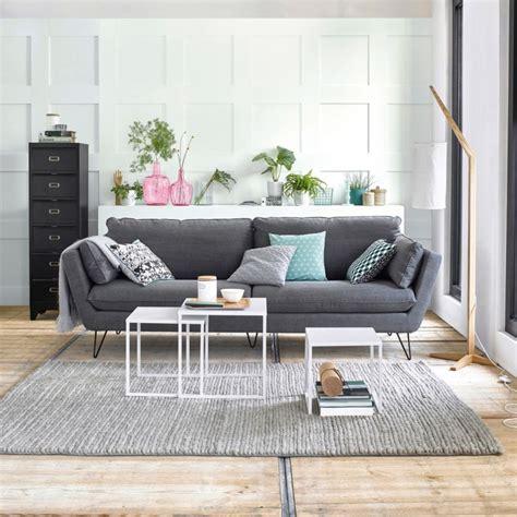 canapé scandinave pas cher salon scandinave pas cher idées de décoration et de