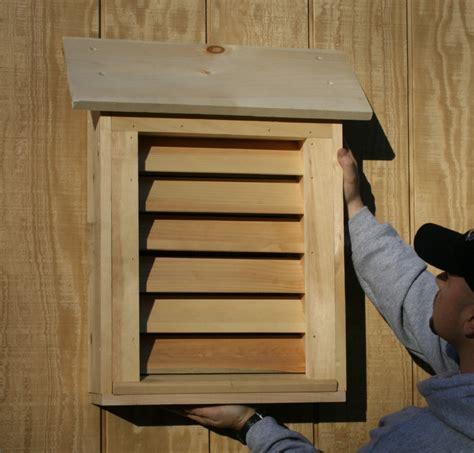bat guys  suburban bat house plans