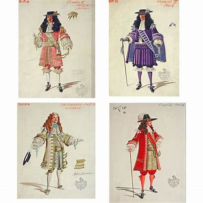 Costume Theatrical Historical Illustrations English Shops Amulet