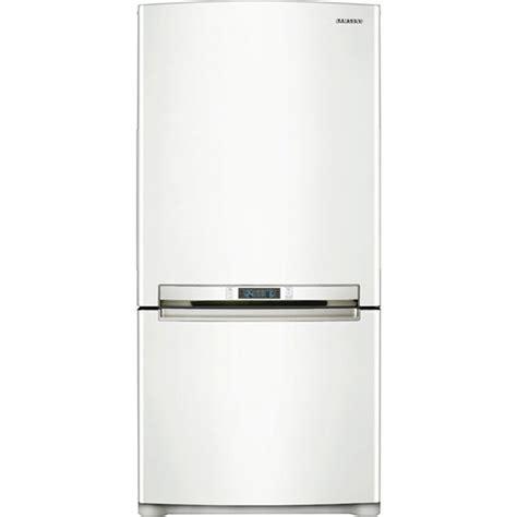 samsung rbacwp  cu ft bottom freezer refrigerator