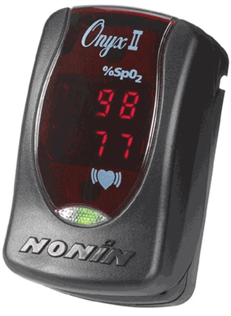 NONIN ONYX 2 II 9550 FINGER PULSE OXIMETER FREE SHIPPING