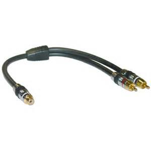 Skytronic 230.773 Audio Y Kabel - 0.25m