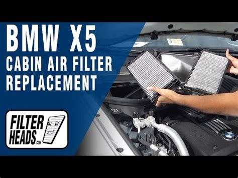 replace cabin air filter bmw  youtube