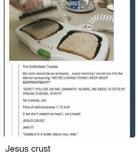The Defibrillator Toaster by 25 Best Memes About Beep Beep Memes