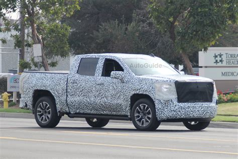 2019 Gmc Sierra Spied Showing Off Its Updated New