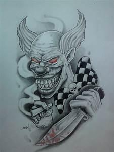 killer clown by karlinoboy on DeviantArt