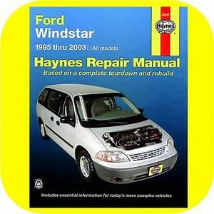 Repair Manual Book Ford Windstar Mini Van 95
