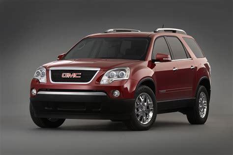 gmc acadia overview carscom