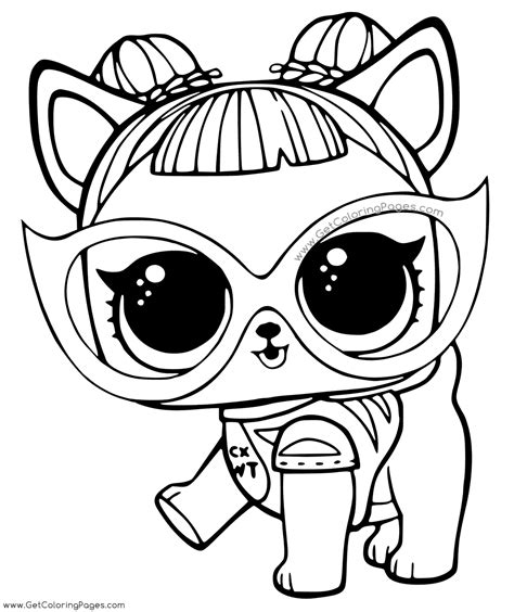 Lol Surprise Pages For Gilrs Coloring Sketch Coloring Page