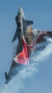 HD Background Dassault Rafale Tiger Indian Air Force Stunt ...