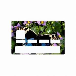 Automate Essence Carte Bancaire : stickers papillon univers carte bancaire etiquette autocollant ~ Medecine-chirurgie-esthetiques.com Avis de Voitures